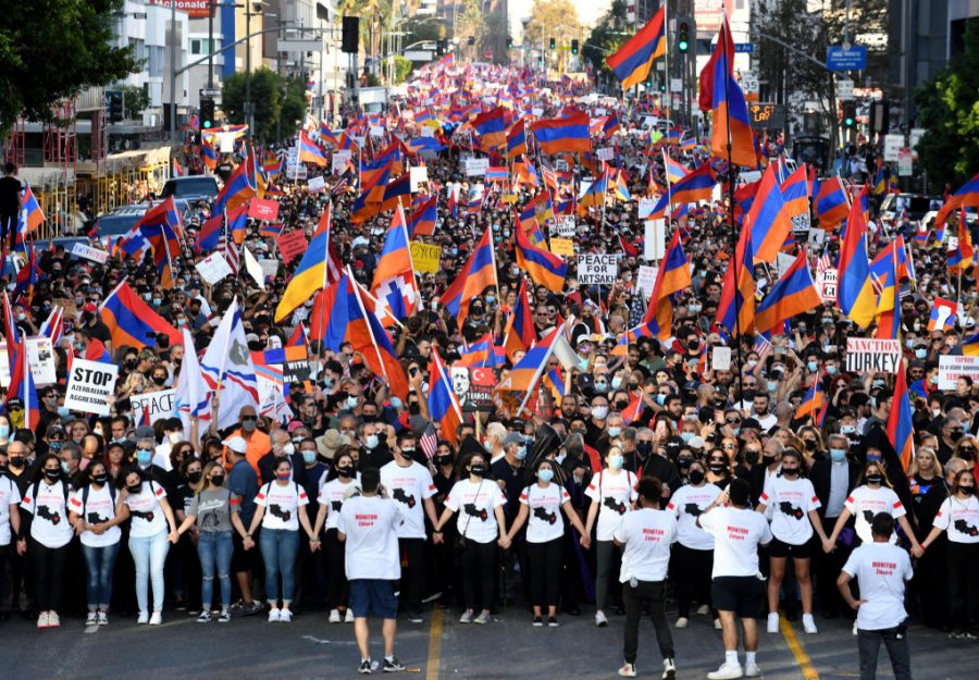Protest+over+Armenian+Conflicts+Continue