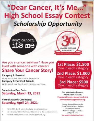 Essay Contest: Scholarship Available